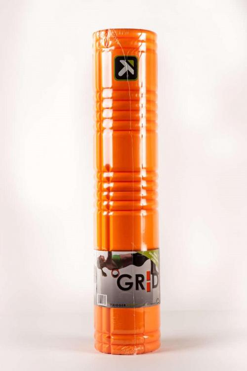 Roller Grid 2.0 pomarańczowy w opakowaniu