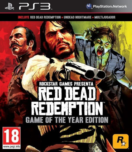 Red Dead Redemption Game of the Year Edition (2011) PS3 - P2P