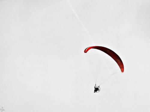 Paralotnia z napędem silnikowym (PPG).