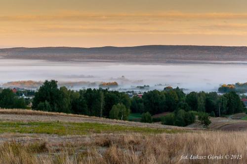 Świt w Dolinie Mgieł #wschód #świt #dolina #mgła