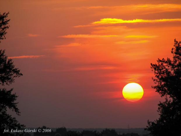 stare z archiwum #zachód #słońca