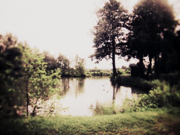 #jezioro #woda #efekty #piękne