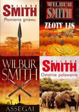 Wilbur Smith - 4 audiobooki [Audiobook PL]