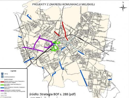 Plan rozwoju BKM według BOF