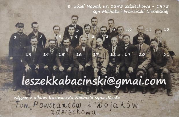 Powstańcy Wielkoposcy i wojacy Zdziechowa /Gniezno #Zdziechowa