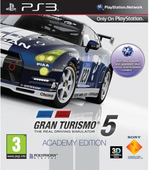 Gran Turismo 5 Academy Edition (2010) PS3 - STRiKE